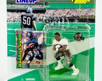 Starting Lineup 1999 NFL Tampa Bay Buccaneers Warrick Dunn Action Figure