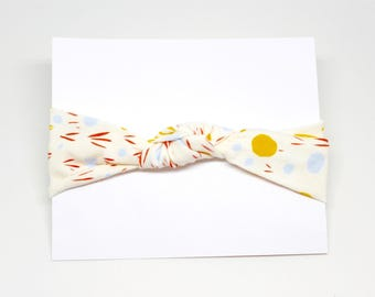 SALE Butter Dots Knot Headband