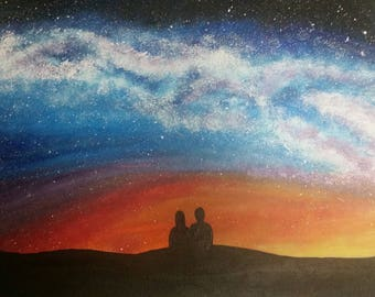 Night Under the Stars 16 X 20