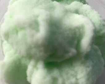 SLIME Green Apple Slush Cloud Slime. Very satisfying!!