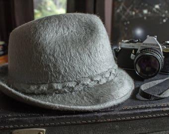 Vintage Biltmore Canadian Beaver Fur Felt Hat