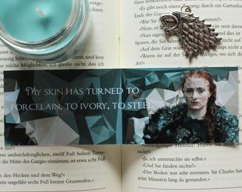 Sansa Stark Game of Thrones Bookmark