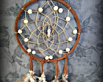Feather In The Wind Dream Catcher For Peaceful Sleep