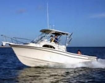 Custom Boat and Jet Ski Registration Numbers- you choose color, font, and size! Sets of 2!!