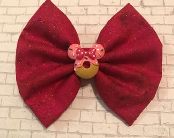 Red Glitter Minnie Mouse