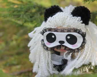 Panda Doll Handmade doll Art doll Interior doll Home decoration Textile doll Personalized doll Doll for girl Christmas present