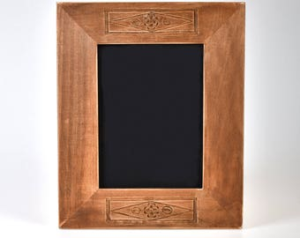 Basswood carved picture frames