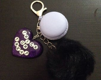 Halloween Key Chain Trick or Treat