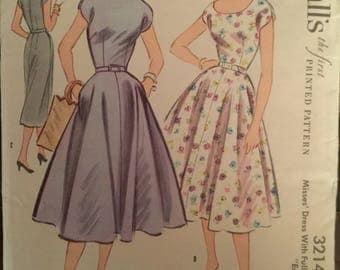 Vintage McCall's Plus Size Pattern #3214
