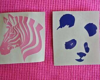 Zoo Animal Vinyl Decal