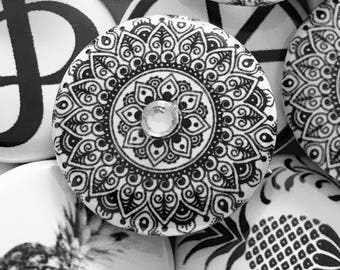 Rhinestone Mandala