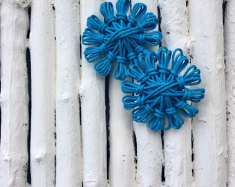 Cotton Flower Earrings