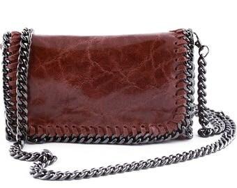 Woman Shoulder Genuine Leather Bag