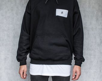 IF Patch Hoodie - Black