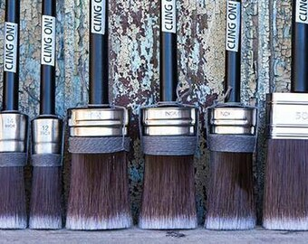 Cling On! Paint Brushes