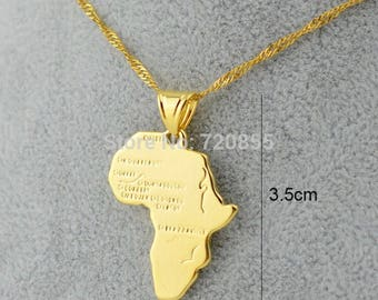 Mother Africa Pendant & Necklace