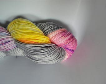 Sunset Cloudbreak 4 ply sock yarn