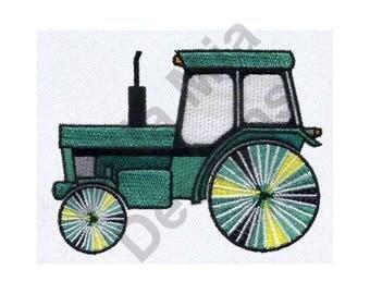 Tractor - Machine Embroidery Design, Deere Farmhand