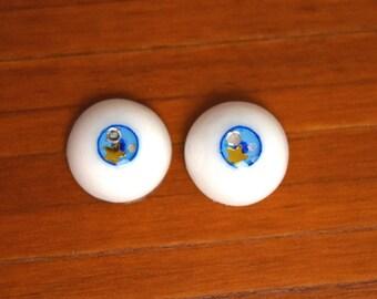 "14mm Resin BJD Doll Eyes Small Iris Style "" Starry Eyed """