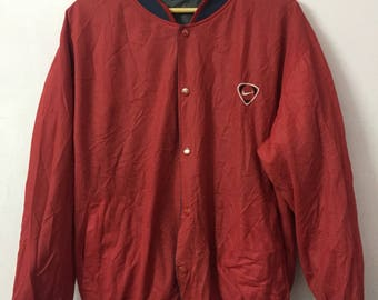 SALE ! Vintage NIKE Swoosh Reversible jacket small logo embroidery