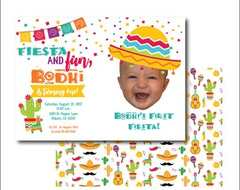 FIESTA AND FUN birthday party! (printable file only)