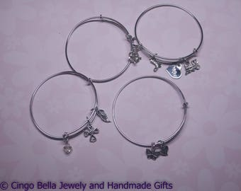 Adjustable Charm Bracelet