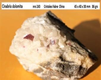 Cinnabar Dolomite NRO 243
