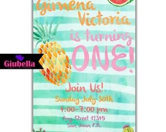 Frutti Tutti Invitation
