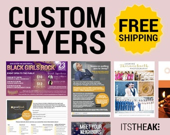 professional event flyers