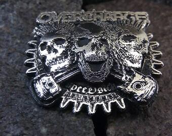 Overcharge Metal Pin