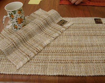 Placemats Pair - Natural Oatmeal