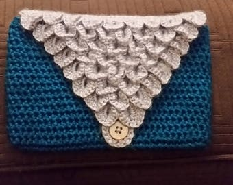 Mermaid Envelope Clutch