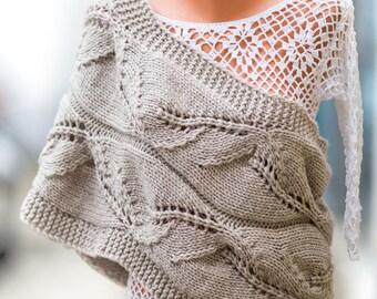 Ready to ship!  Knit scarf