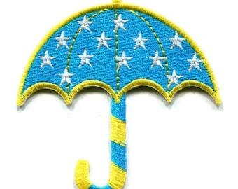 Sky Blue Umbrella Patch W.Ch.Patch