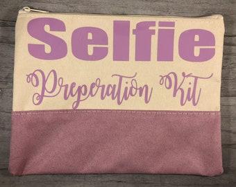 Personalized Makeup Bag. Personalized Cosmetic Bag. Bridesmaid Gifts. Lavender Makeup Bag. Mint Makeup Bag. Personalized Gifts.