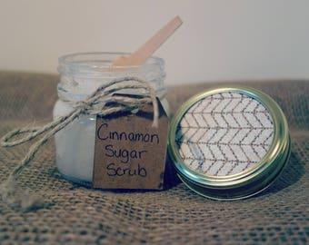 Cinnamon Sugar Scrub 8 oz