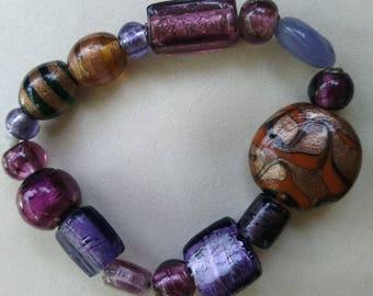 Purple shades bracelet