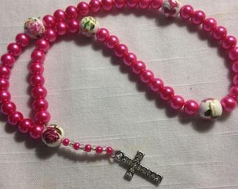 Handmade prayer beads