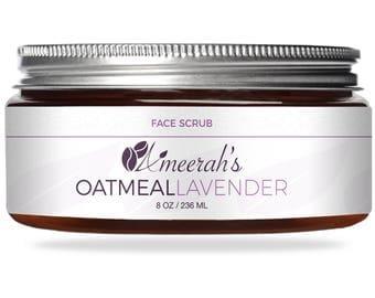 Oatmeal Lavender Face Scrub
