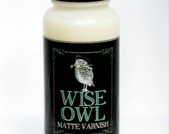 Wise Owl Matte Varnish - PINT