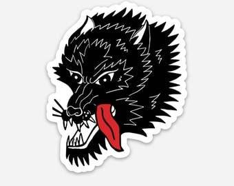 Wolfe Sticker
