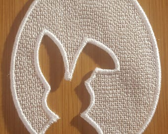 "Embroidery File FSL ""Easterbunny (cutout)"""