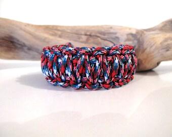 Afghan Paracord KING COBRA survival bracelet