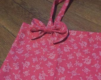 Pink Skull Tote