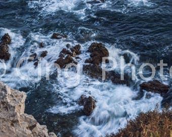 Wave Breaking Photo