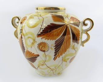Vase with handles Kastanje Flora Gouda Holland Netherlands