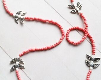 Pink Angel Waist Beads