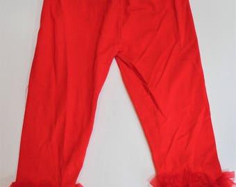 Ruffled Bottom Pants/Leggings