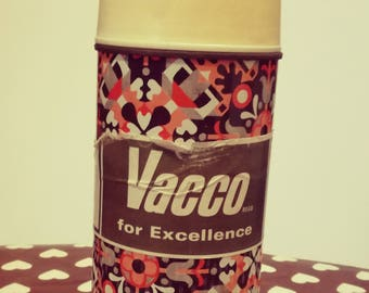 thermos vintage psychedelic pattern VACCO (1/2 L) brand new
