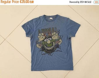 LAST DAY 35% OFF Animal The Muppets T shirt made in Usa Cotton Shirt Size M
